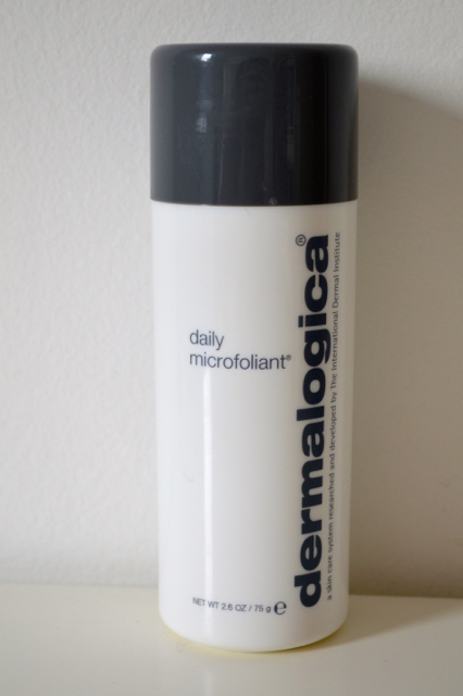 DIY at-home facial dermalogica daily microfoliant