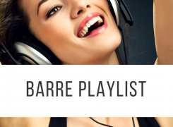 Barre Playlist for Fall