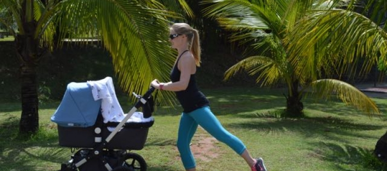 Babies at the Barre™: Stroller Barre Lower Body Blast