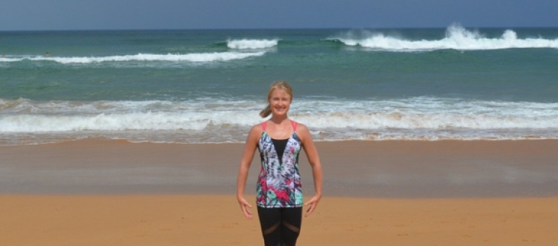 Barre at the Beach: Standing Barre Work