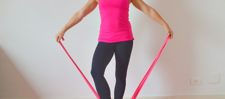 Pilates Resistance Band Workout