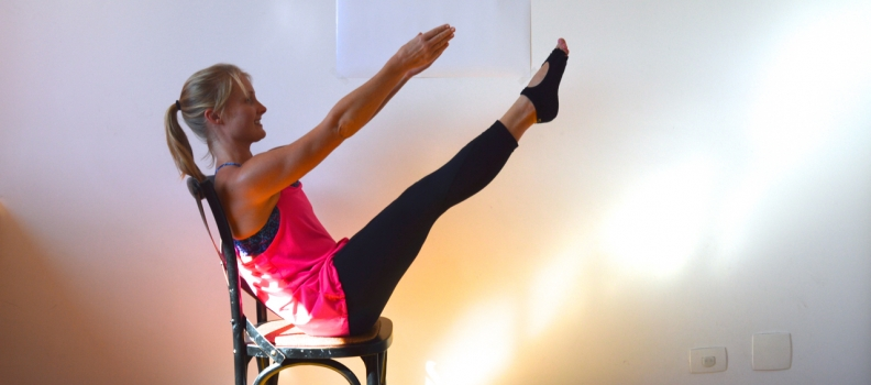 Pilates Apparatus Fakeout: Pilates Chair